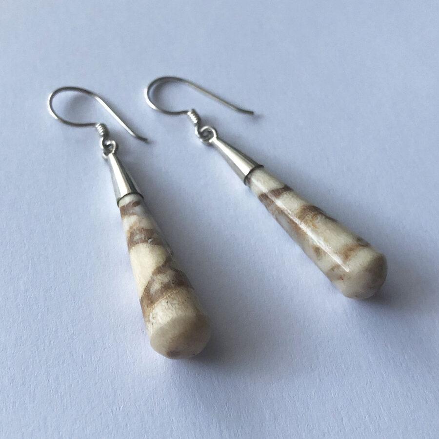 Shell Earrings Gotas de Concha