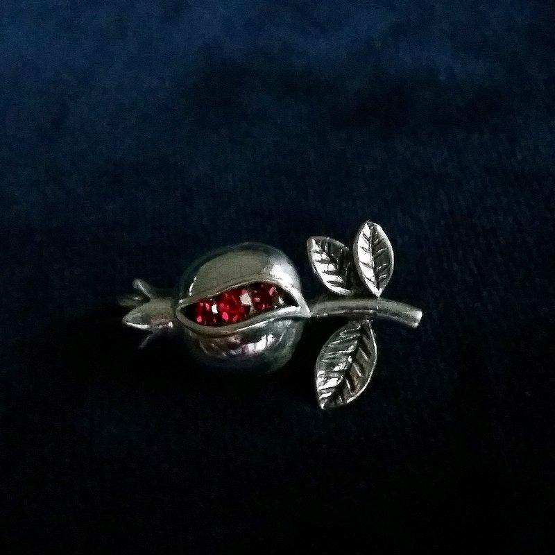 Silver Brooch Granada