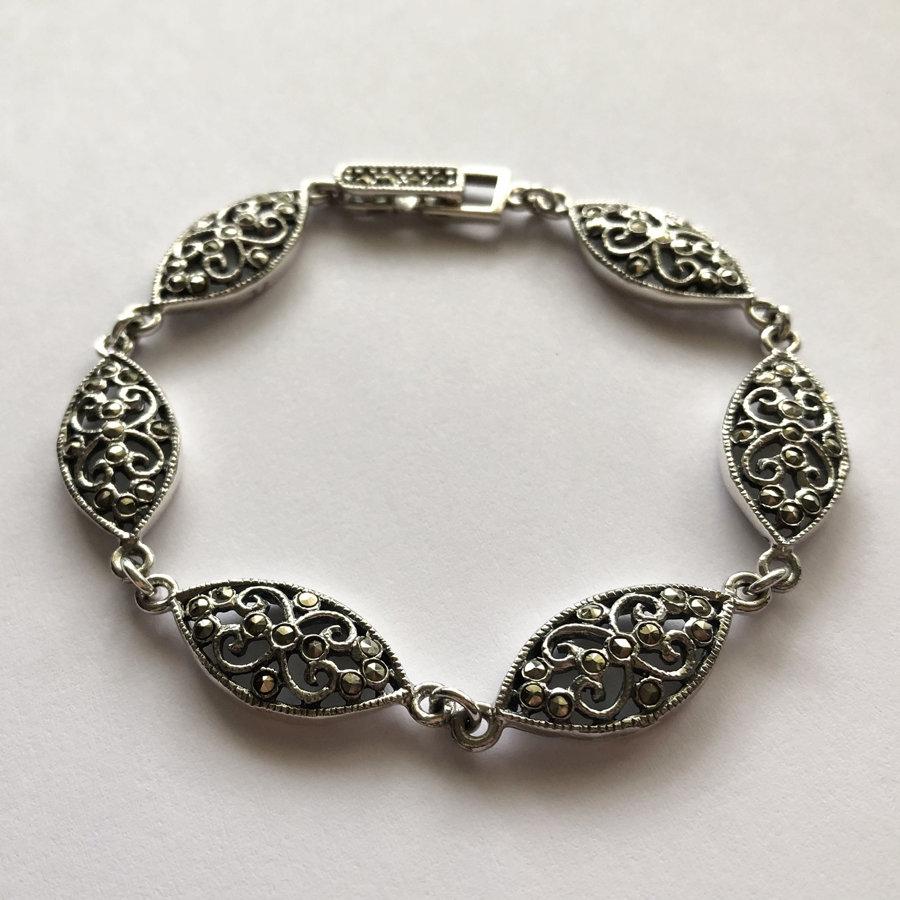 Marcasite Bracelet Silvia