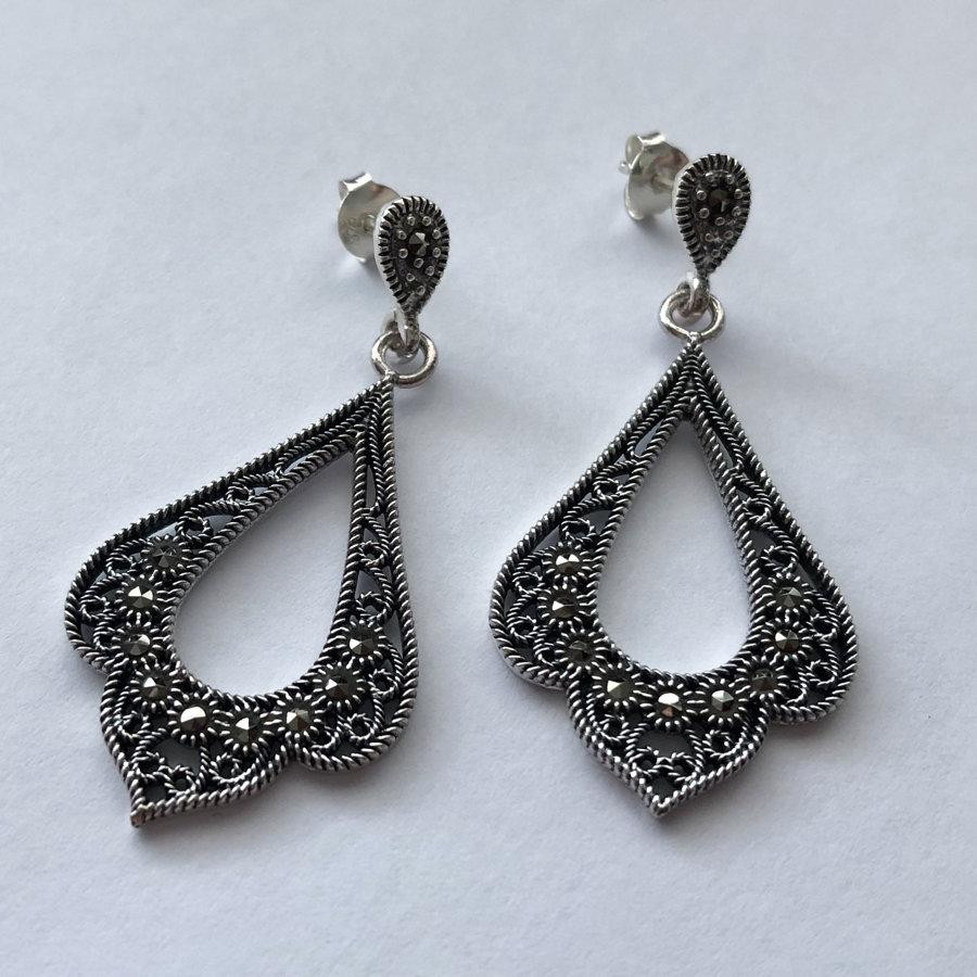 Marcasite Earrings Estefania