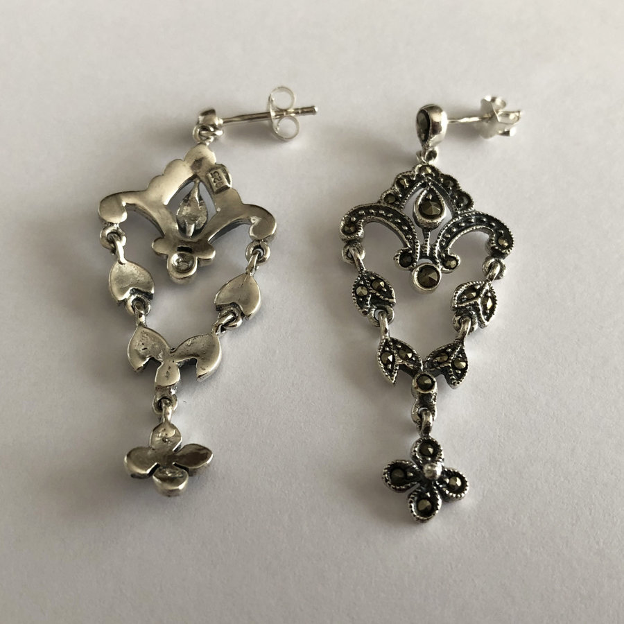 Marcasite Earrings Natalia