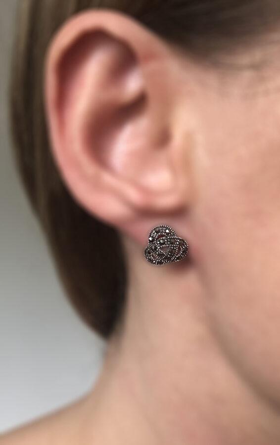 Marcasite Earrings Manuela