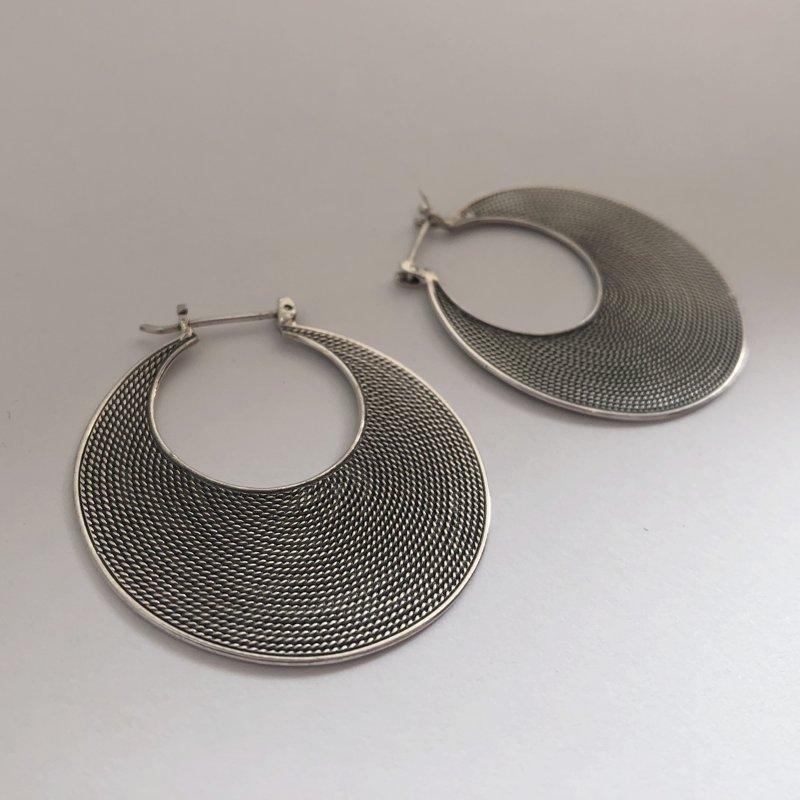 Silver Earrings Maricielo