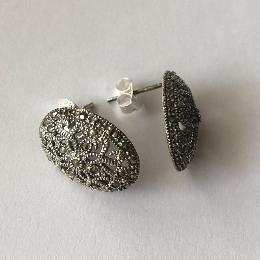 Marcasite Earrings Olivia