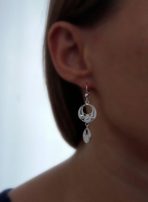 Filigree Earrings Ronda Small Long