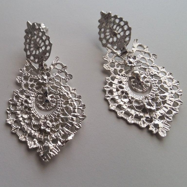 Sterling Silver Earrings Victoria