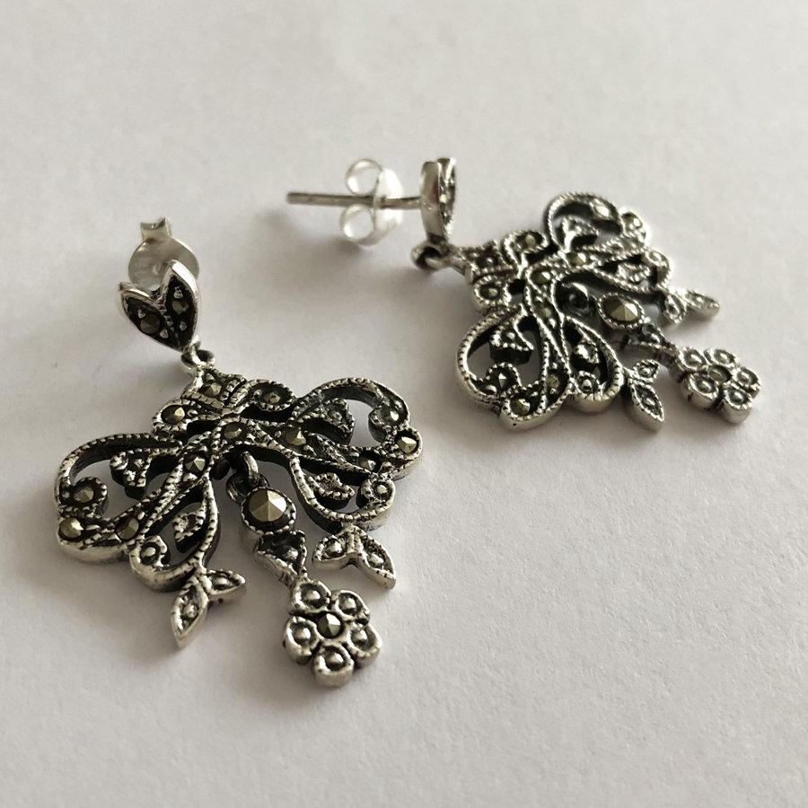 Marcasite Earrings Elvira