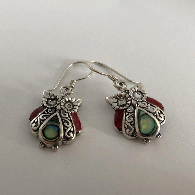 Silver Earrings Buhos