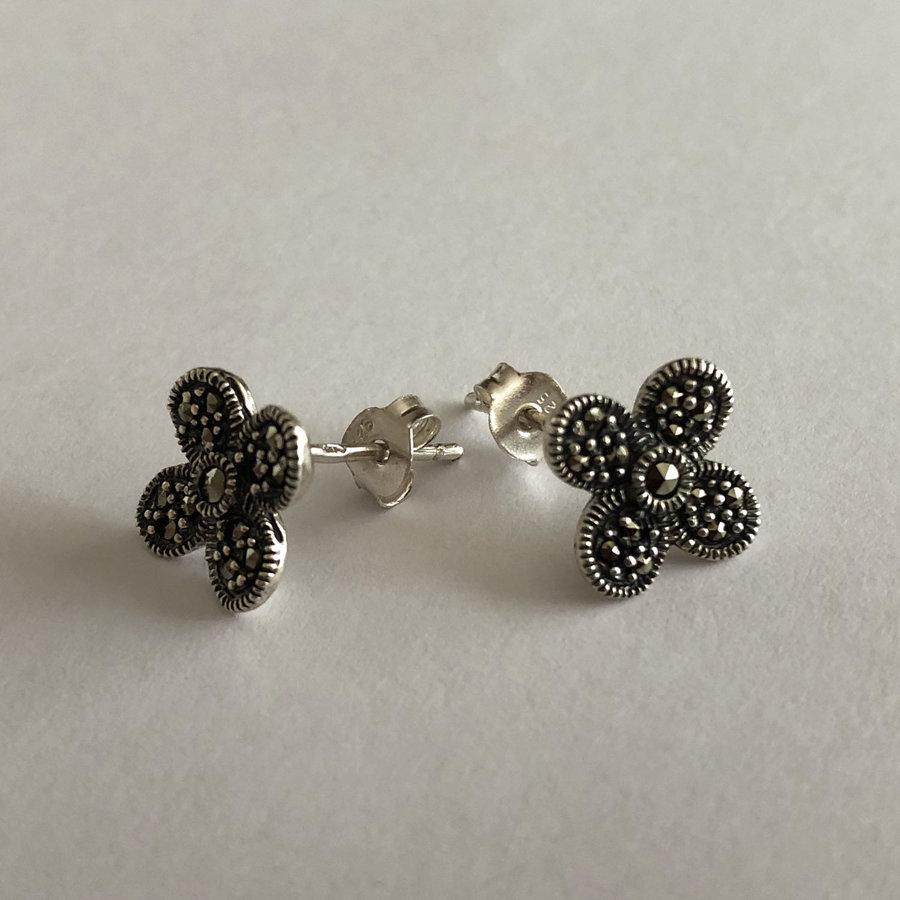 Marcasite Earrings Barcelo