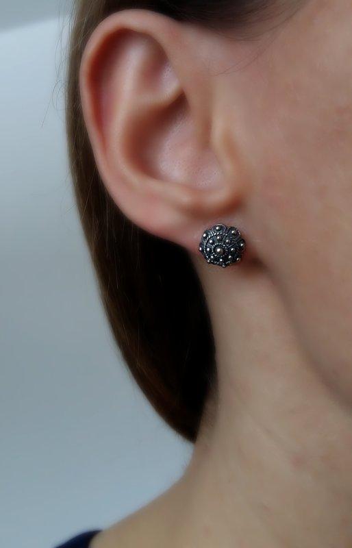 Small Charro Stud Earrings