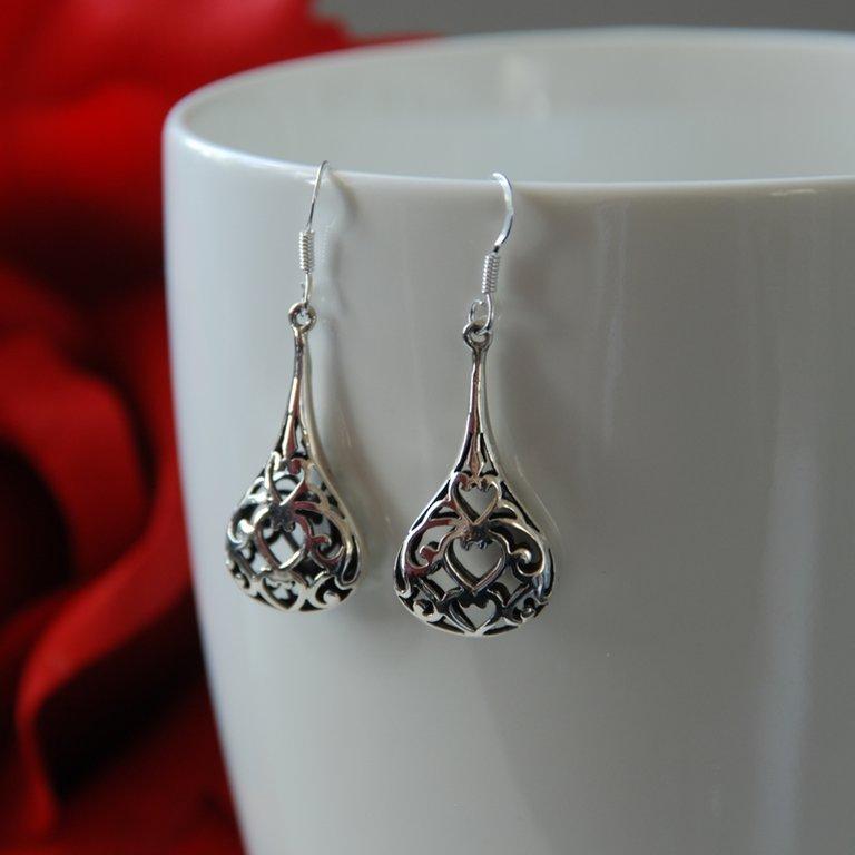 Earrings with Oriental Look Magdalena
