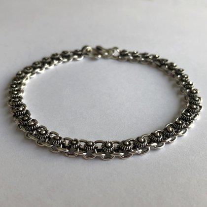 Silver Bracelet Motivo Charro