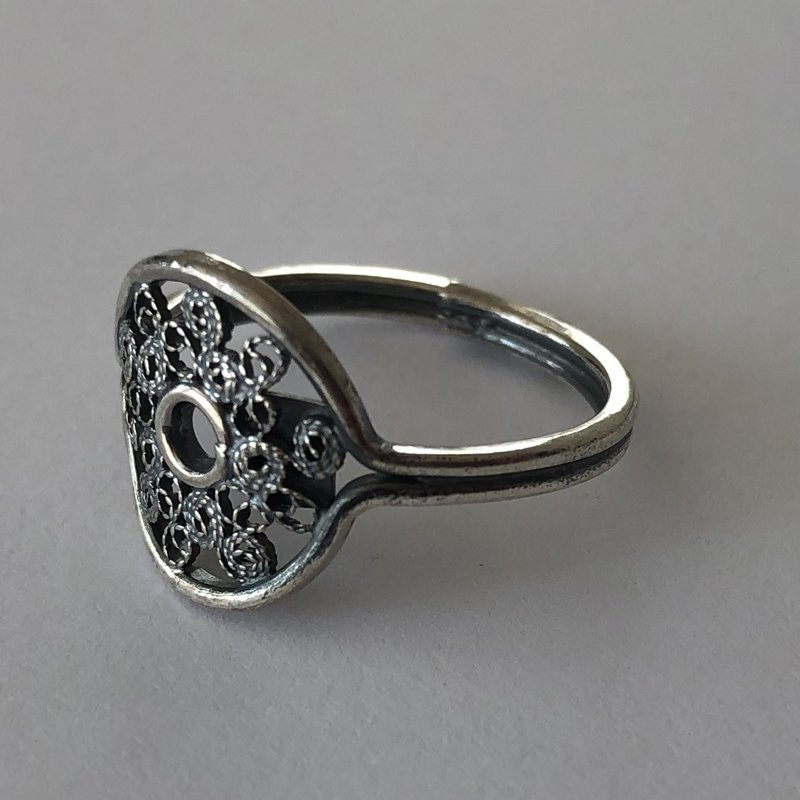 Filigree Ring Camino del Sol