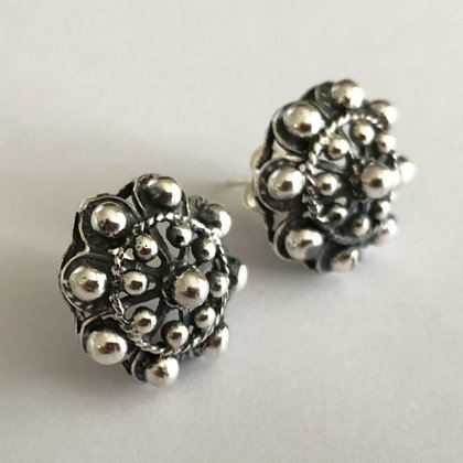 Large Charro Stud Earrings