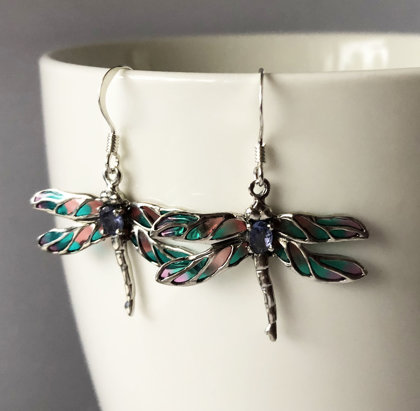 Dragonfly Earrings Libelula Campoamor