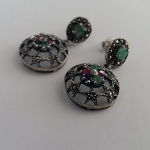 Earrings with Gemstones Estrella