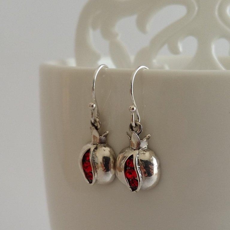 Silver Earrings Granada