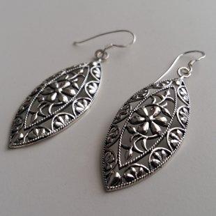 Sterling Silver Earrings La Bohemia