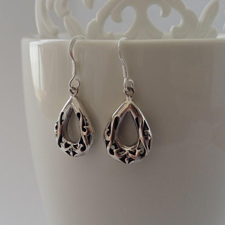 Earrings with Oriental Look Ramona