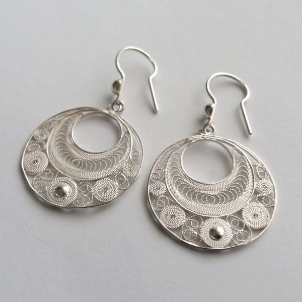 Filigree Earrings Ronda Light