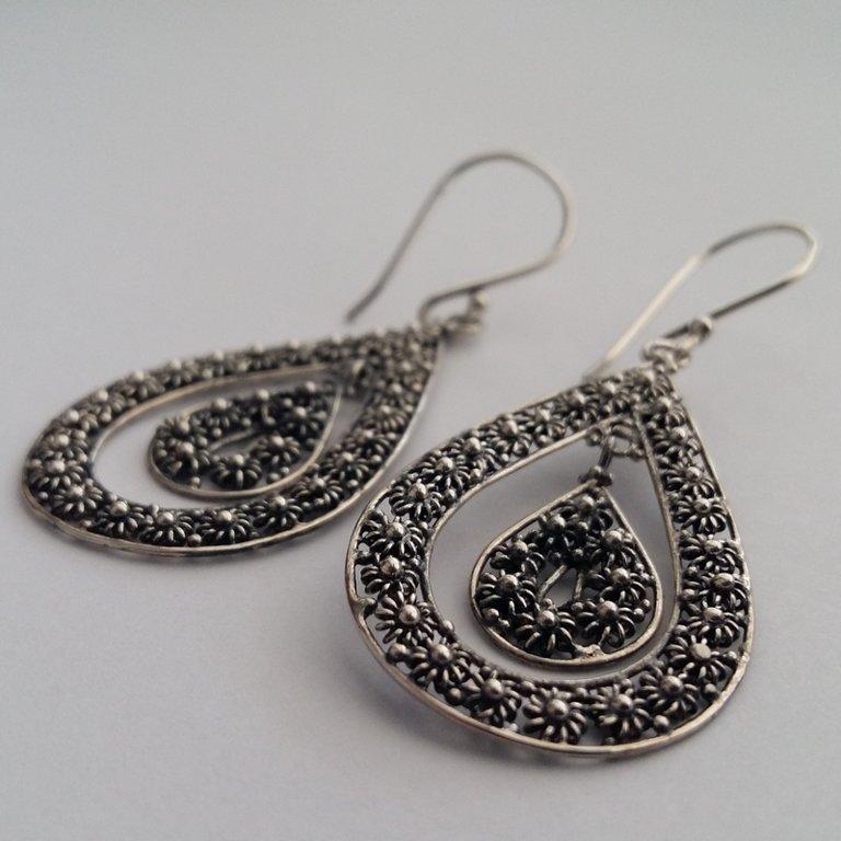 Earrings with Charro Element Solea