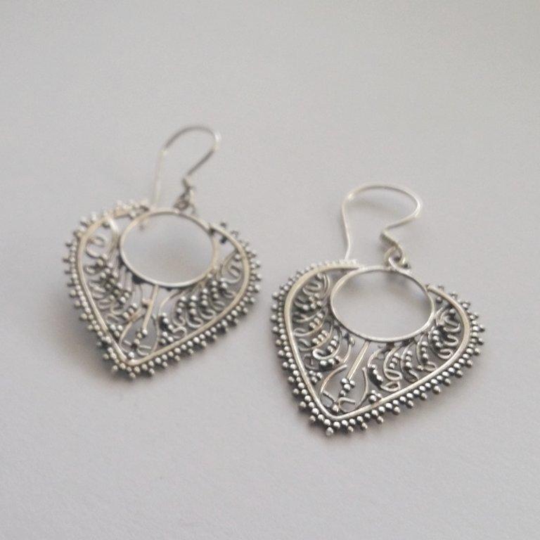 Earrings with Oriental Look Veronica