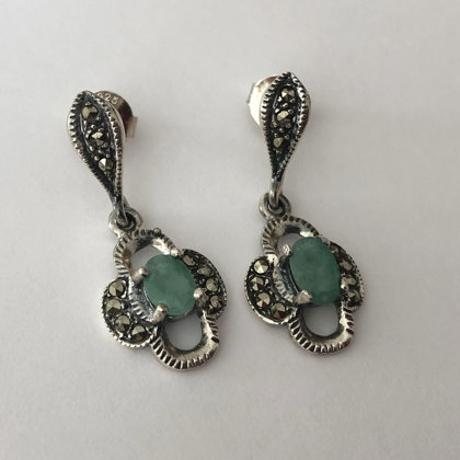 Emerald Earrings Esmeralda