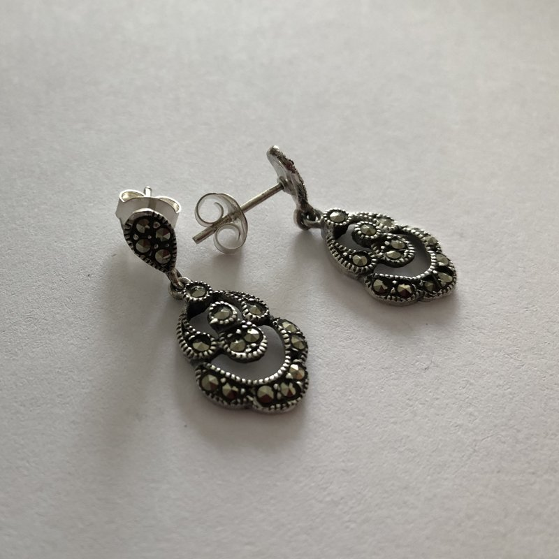 Marcasite Earrings Laura