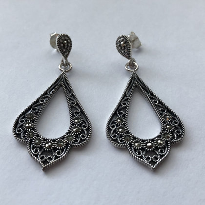 Marcasite Earrings Estefania