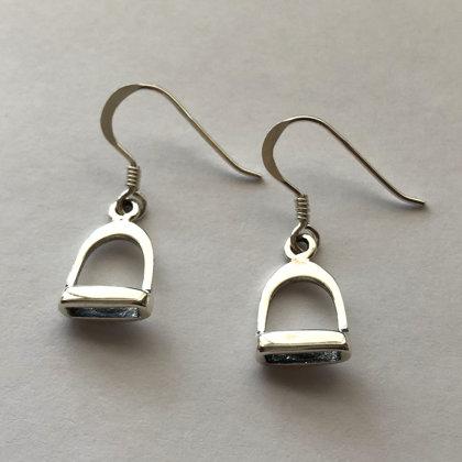 Silver Stirrup Earrings Estribo