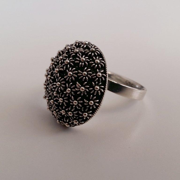Ring with Charro Element Roseton