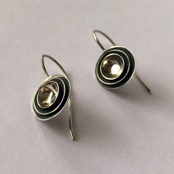 Silver Earrings Marcela