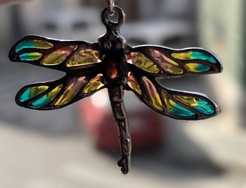 Dragonfly Earrings Libelula Melocoton