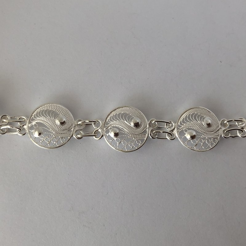 Filigree Bracelet Yin and Yang